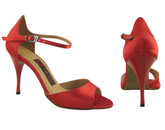 Satin With a Touch of Lust - Tango Shoes