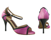 Purple Caress (satin) - Tango Shoes