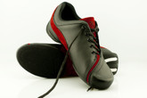 2x4 al pie - Palermo Negro y Rojo (fully leather)- Tango Shoes