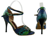 Shimmer (fully leather, fully adjustable)- Tango Shoes
