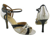 Mirrored Kiss (fully adjustable, fully leather) - Tango Shoes