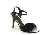 Greta Flora - Rosaura Black Silver (fully leather)- Tango Shoes