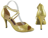 Gold and Desire - Tango Shoes
