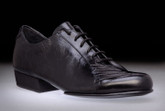 2x4 al pie San Telmo - Negro (fully leather) - Tango Shoes
