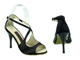 Night Owl (satin) - Tango Shoes