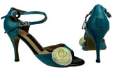 Ocean Flower (fully leather) - Tango Shoes