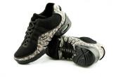 2x4 al pie Zapatillas Women Dance Sneakers - Buenos Aires Negro con Jaguar