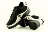 2x4 al pie Zapatillas Women Dance Sneakers - Buenos Aires Negro con Plata