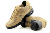 2x4 al pie Zapatillas Men Dance Sneakers - Buenos Aires Dorado con Antilope Beige