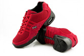 2x4 al pie Zapatillas Men Dance Sneakers - Buenos Aires Rojo