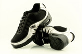 2x4 al pie Zapatillas Men Dance Sneakers - Buenos Aires Negro con Plata