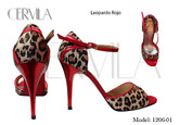 Cervila - Leopardo Rojo (fully leather)