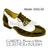 Cervila - Gardel Marron Blanco (leather and polish)
