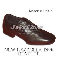 Online Tango Shoes - Cervila - Nuevo Negro Cuero (fully leather)