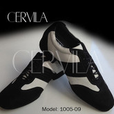 Cervila - Piazzolla Negro Blanco Gamuza Cuero (fully leather)