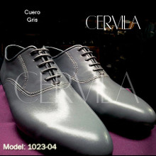 Online Tango Shoes - Cervila - Cachafaz Gris Cuero (fully leather)