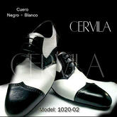 Cervila - Gardel Pico Negro Blanco (fully leather)