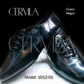 Cervila - Dash Negro Cuero (fully leather)