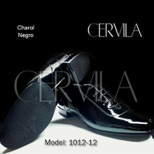 Online Tango Shoes - Cervila - Dash Negro Charol (fully leather)