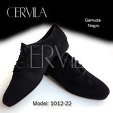 Cervila - Dash Negro Gamuza (fully suede)