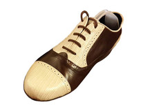 Online Tango Shoes - 2x4 al pie Boedo Flex Malbec y Lagarto Beige
