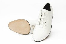 Online Tango Shoes - 2x4 al pie Villa Urquiza Flex Blanco