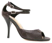 Online Tango Shoes - Tango Leike Waves of Black