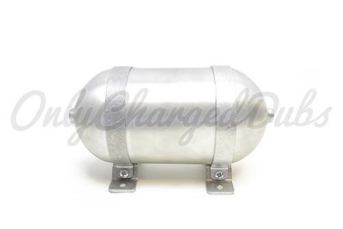 "Specialty Suspension Seamless Aluminium Air Tank - 12"" x 5""D"