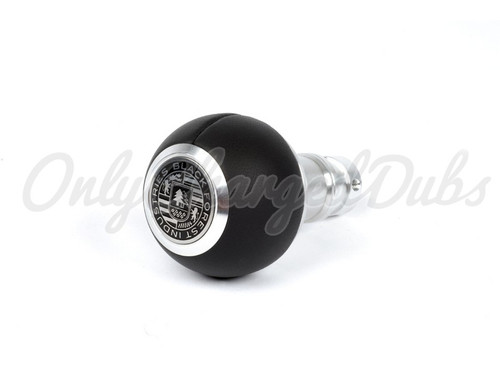 VW/Audi BFI Heavy Weight Shift Knob - Smooth Black Nappa Leather