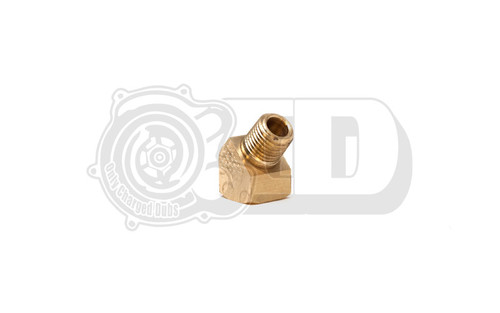 "Threaded Fitting - 45' Degree 1/4""NPT Brass Elbow"