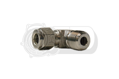 "3/8"" OD - Male Elbow NPT Compression Stainless Fitting"