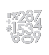 Modern Numerals Die