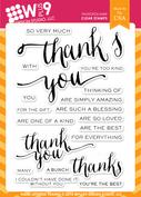 Hand Lettered Thanks