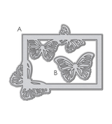 Small Butterfly Frame Die