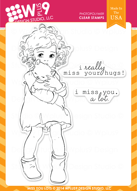 Miss You Lots Stamp Set