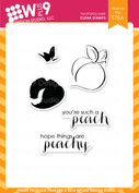 Punny Produce: Peaches