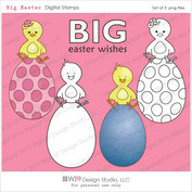 Big Easter Digital Mini Stamp Set