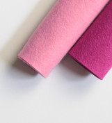 Shades of Pink Wool Felt