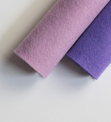 Shades of Purple Wool Felt