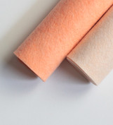 Shades of Peach Wool Felt