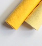 Shades of Yellow Wool Felt