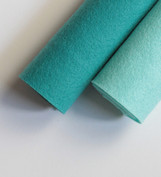 Shades of Aqua Wool Felt
