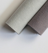 Shades of Gray Wool Felt