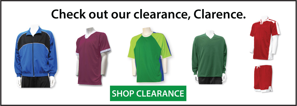Soccer clearance jerseys and gear by Code Four Athletics
