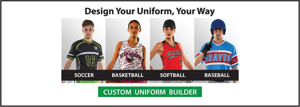 Custom soccer uniforms, sublimation sports kits by Code Four Athletics