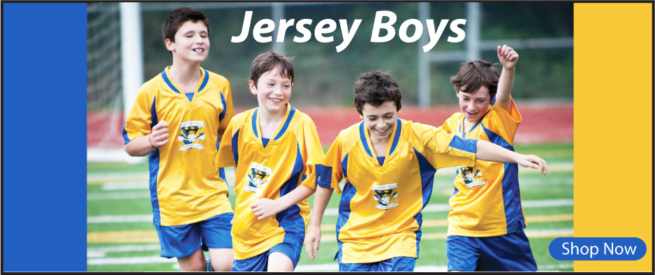 Soccer jerseys for youth teams and clubs by Code Four Athletics