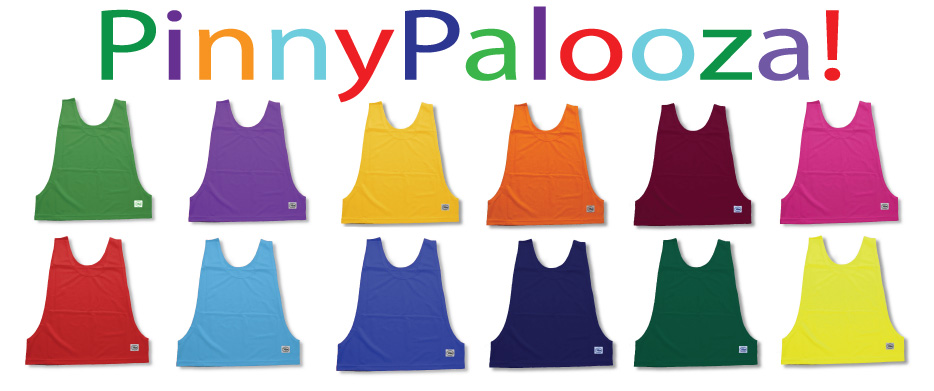 Soccer Practice Pinnies / Pennies by Code Four Athletics
