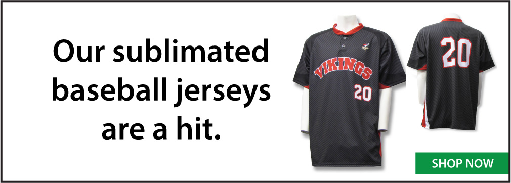 Sublimated custom baseball jerseys, custom uniforms by Code Four Athletics