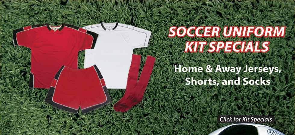 Soccer Uniform Kit Special by Code Four Athletics