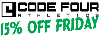 Code Four Athletics 15% Off Friday